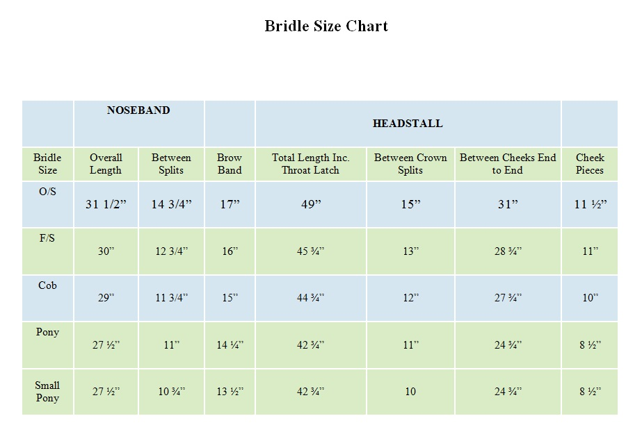 updated-bridle-size-chart