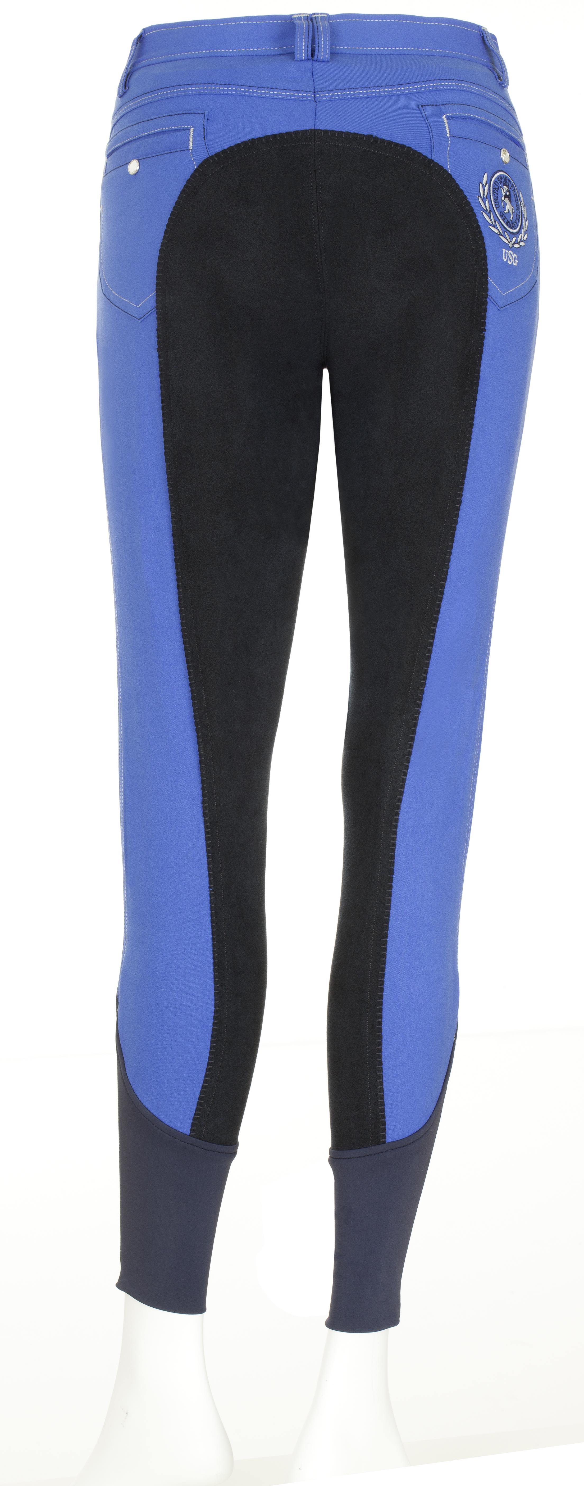 Jess royal blue leg