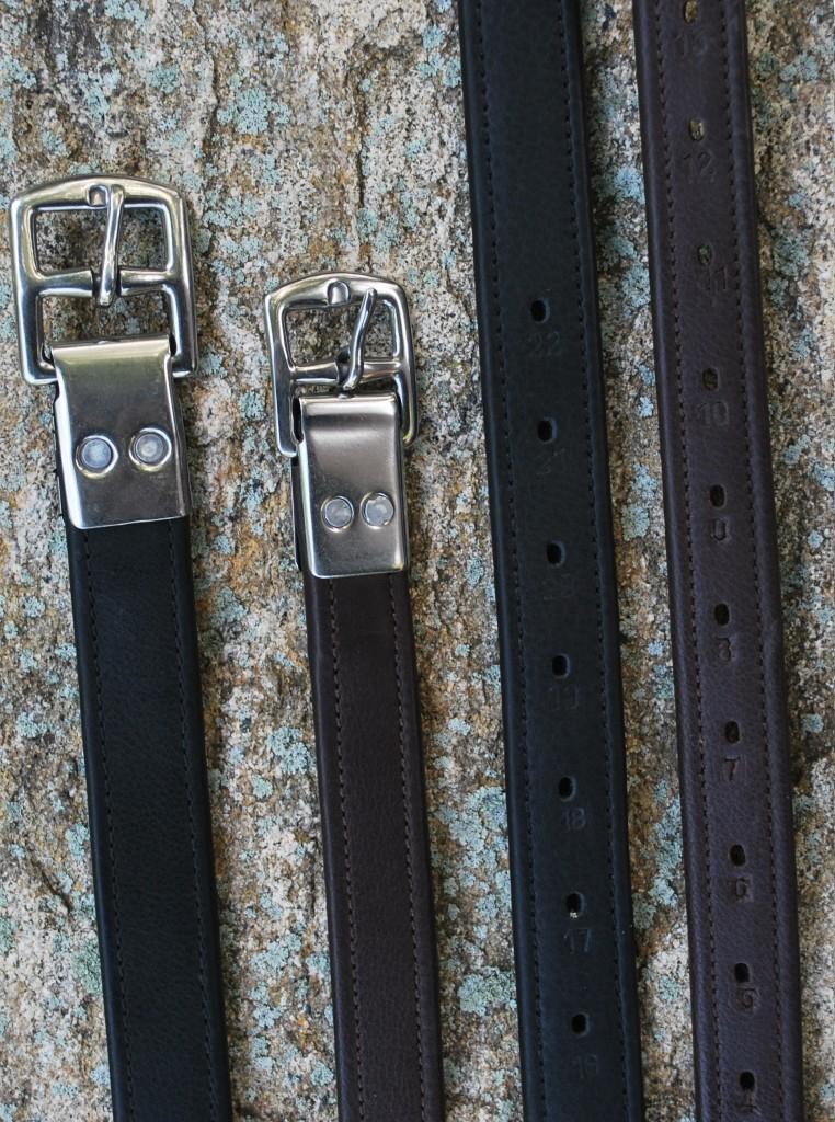Black Oak Riveted Stirrup Leathers